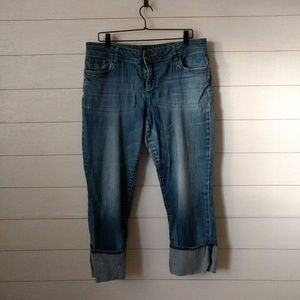 Kut from the Kloth Cuffed Boyfriend Jeans 14